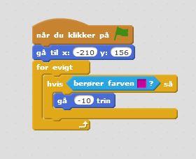 """Kommandoerne """"Hvis så"""" og """"for evigt"""""""